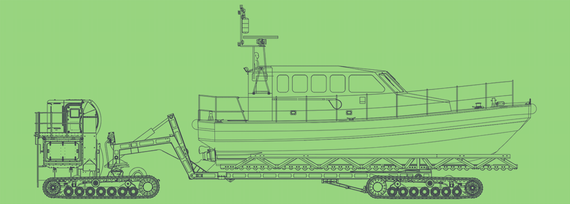 Line drawing of the L&RS