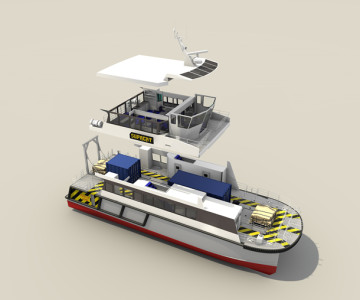 SC Innovation's SMV24 workboat, perfect for offshore energy support
