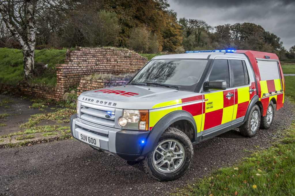 Specialist Utility Vehicle For Emergency Rapid Response Sc