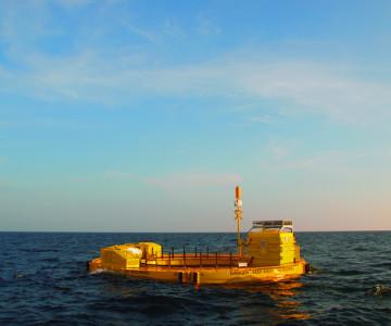 The Bolt at sea