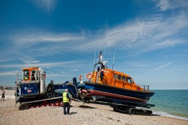 SC Innovation's lifeboat launch and recovery system