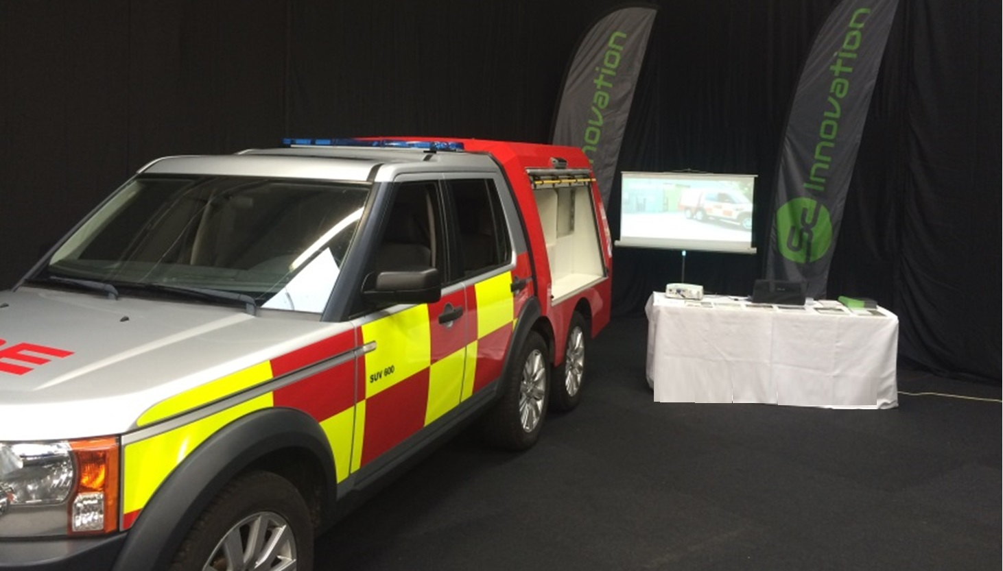 Suv At Fire Sector Summit Sc Innovation