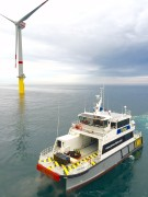 SC Innovation designed marine workboat SMV24, ideal for marine renewable energy projects